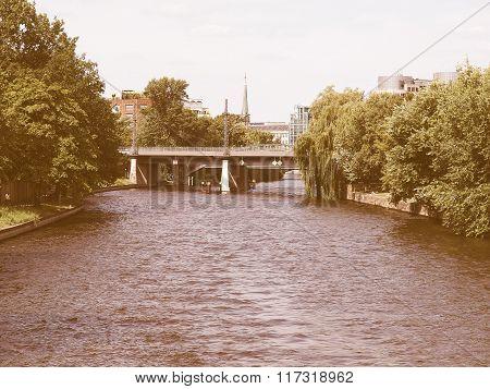 Spree, Berlin Vintage