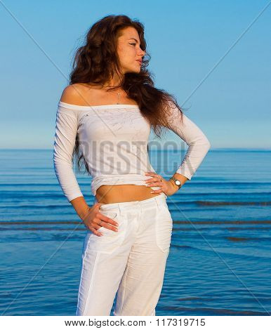 Beach Beauty Model