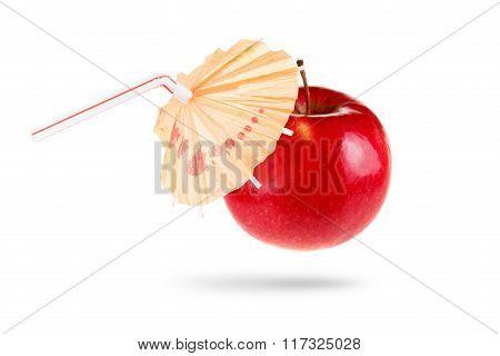 Concept Image Of Fresh Apple Juice