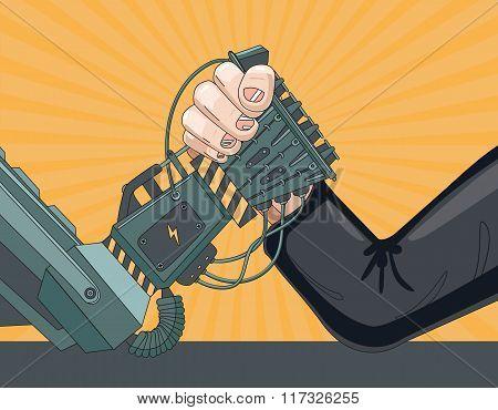 Human vs Robot