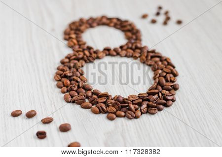 Grain coffee-of-eight on women's day