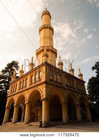 Minaret in Lednice-Valtice Cultural Landscape