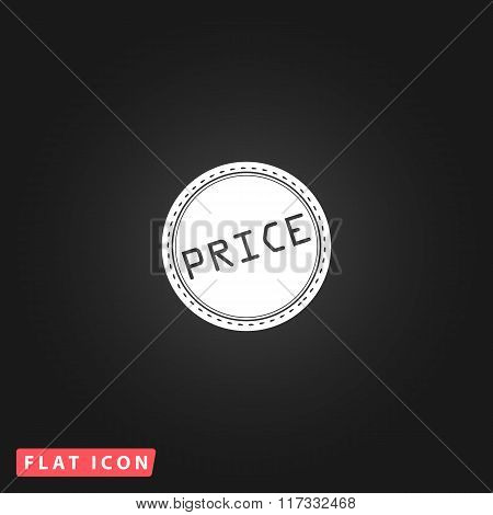 Price flat icon
