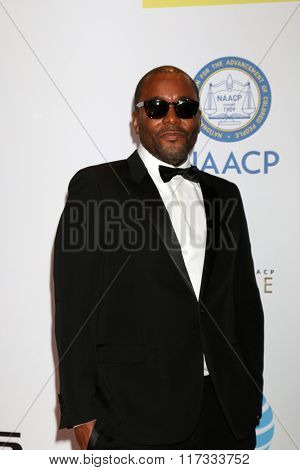 LOS ANGELES - FEB 5:  Lee Daniels at the 47TH NAACP Image Awards Arrivals at the Pasadena Civic Auditorium on February 5, 2016 in Pasadena, CA