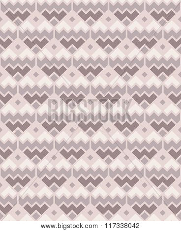 Seamless geometric pattern in pastel colors