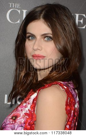 LOS ANGELES - FEB 1:  Alexandra Daddario at the The Choice Special Screening at the ArcLight Hollywood Theaters on February 1, 2016 in Los Angeles, CA