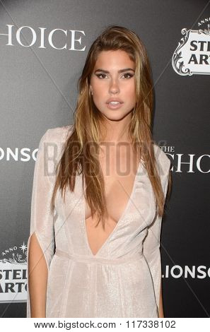 LOS ANGELES - FEB 1:  Kara Del Toro at the The Choice Special Screening at the ArcLight Hollywood Theaters on February 1, 2016 in Los Angeles, CA