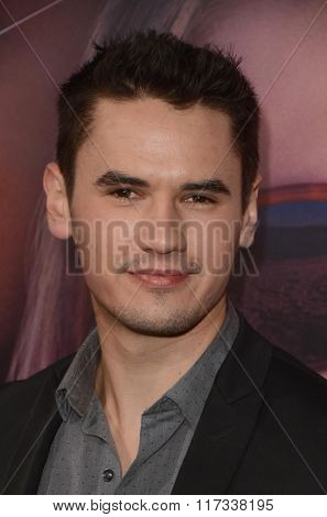 LOS ANGELES - FEB 1:  Monty Geer at the The Choice Special Screening at the ArcLight Hollywood Theaters on February 1, 2016 in Los Angeles, CA