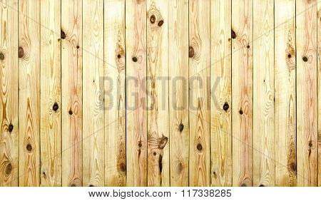Many brown wooden boards