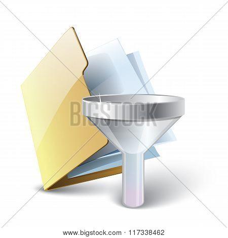 Folder filter icon