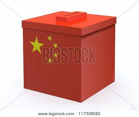 China Election Ballot Box