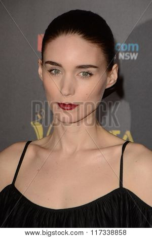 LOS ANGELES - JAN 29:  Rooney Mara at the 2016 AACTA International Awards at the PETA's Bob Barker Building on January 29, 2016 in Los Angeles, CA