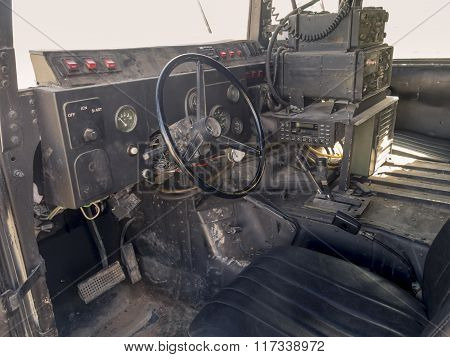 Inside The Humvee