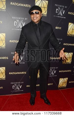 LOS ANGELES - JAN 31:  Ll Cool J at the Art Directors Guild 20th Annual Excellence In Production Awards at the Beverly Hilton Hotel on January 31, 2016 in Beverly Hills, CA