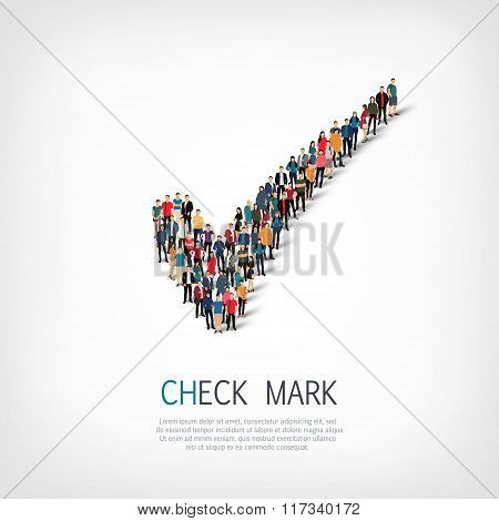 group  people form  checkmark