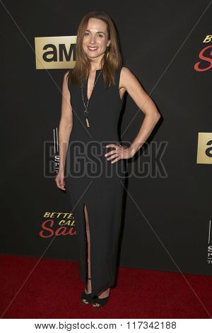 LOS ANGELES - FEB 2:  Kerry Condon at the Better Call Saul Season Two Special Screening at the ArcLight on February 2, 2016 in Culver City, CA