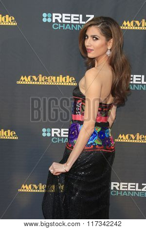 LOS ANGELES - FEB 5:  Blanca Blanco at the 24th Annual MovieGuide Awards at the Universal Hilton Hotel on February 5, 2016 in Los Angeles, CA