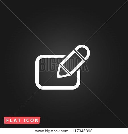 Registration flat icon