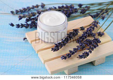 Herbal beauty treatment.
