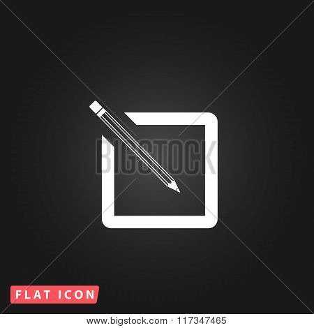Simple registration icon