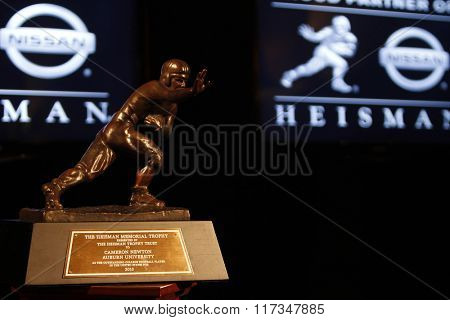 NEW YORK-DEC 11: General view of the 2010 Heisman Memorial Trophy Award on December 11, 2010 in New York City.