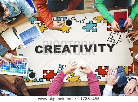 Creativity ideas Imagination Innovation Inspiration Concept