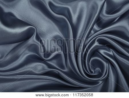 Smooth Elegant Grey Silk Or Satin As Background