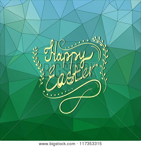 Card With Happy Easter Lettering-5