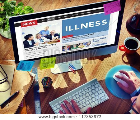 Illness Healthcare Medicine Sickness Concept