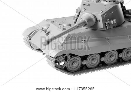 Scale Model Of A German Tank From Ww2