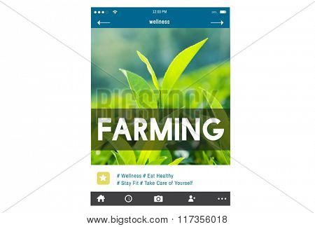 Ecology Farming Agriculture Blog Environment Concept