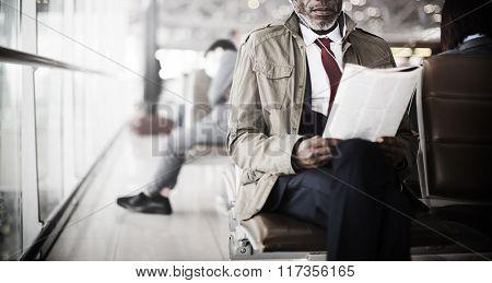 Man Travel Terminal Station Concept