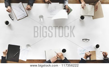 Business Team Planning Strategy Concept
