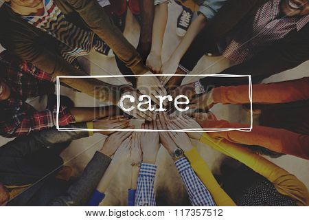 Care Protect Support Safeguard Welfare Concept
