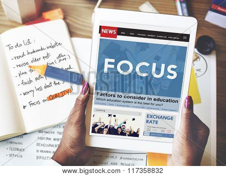 Focus Concentrate Definition Focusing Mission Concept