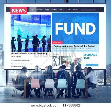 Fund Funding Invest Money Budget Bank Cash Concept