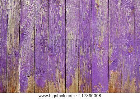wooden planks, palisade violet, purple