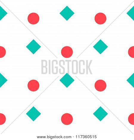 Seamless Pattern With Geometric Form