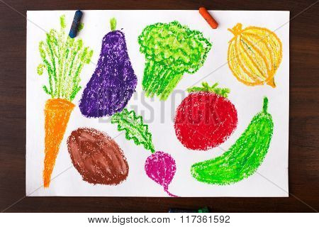 miscellaneous types of vegetables