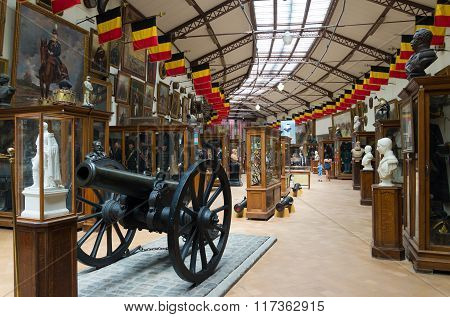 Military And War Museum In Brussels