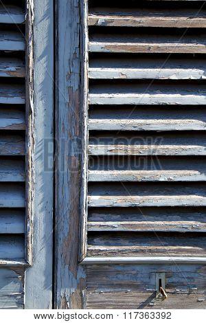 Grey Window  Castellanza   Blind In The Concrete  Brick
