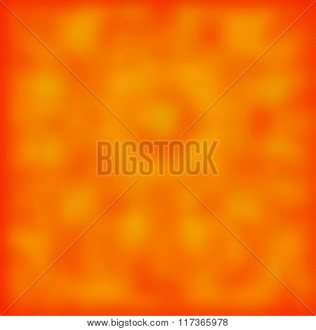 Orange Abstract Blurred Background, Soft Blurred Backdrop