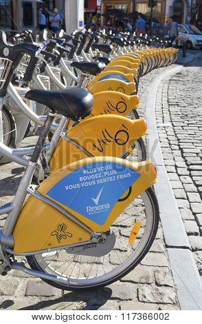 Rental Bikes In Brussels