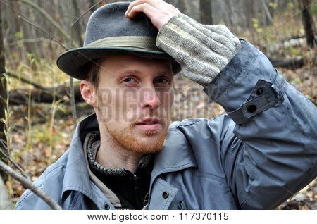 Serious Man In The Hat