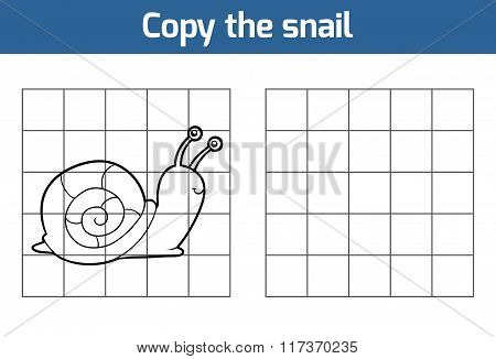 Copy The Picture (snail)