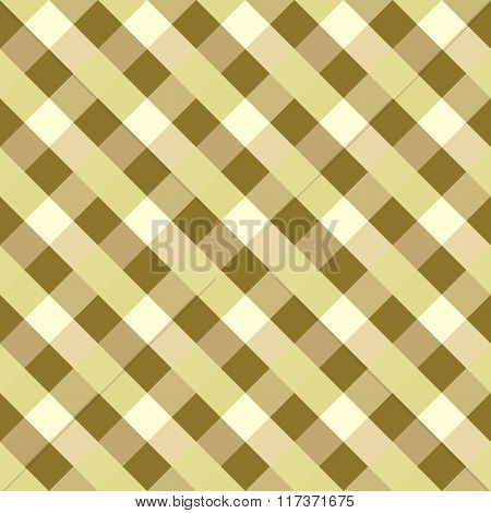 Seamless geometric pattern. Diagonal square, braiding, woven line background. Rhomboid, staggered fi