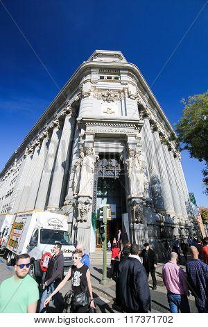 Cervantes Institute Headquarters In Madrid, Spain