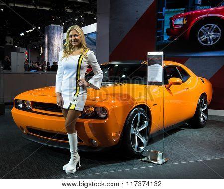 Dodge Challenger Hemi Shaker