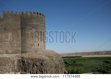 Diyarbakir Castle in Turkey