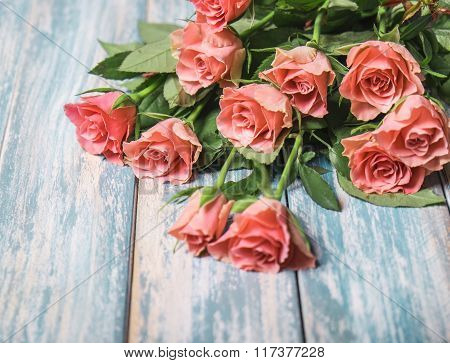 Pink Roses Bouget